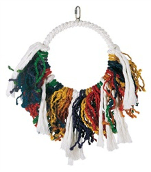 Lw Junglewood Jumbo Rope Dream Catcher{requires 3-7 Days before shipping out}