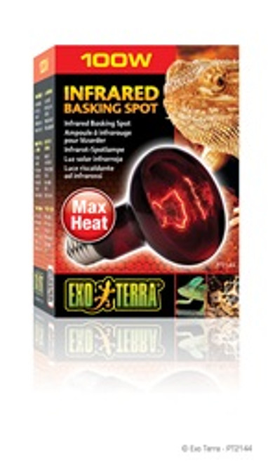 Exoterra Infrared Basking Spot Lamp 100w {requires 3-7 Days before shipping out}