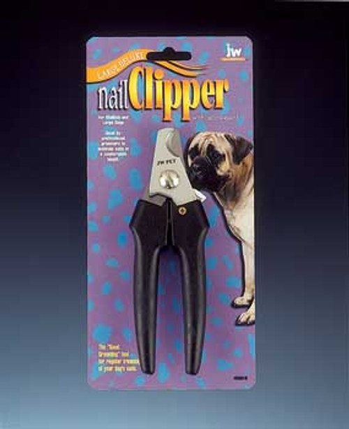 JW Pet Company Gripsoft Large Deluxe Nail Clipper Scissors