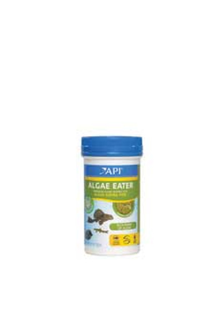 Aquarium Pharmaceuticals Api Algae Eating Wafer 3.7 Oz.