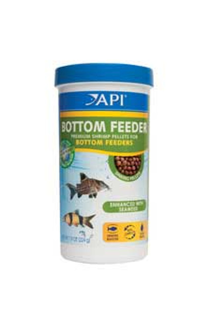 Aquarium Pharmaceuticals Api Bottom Feeder Shrimp Pellet 7.9 Oz