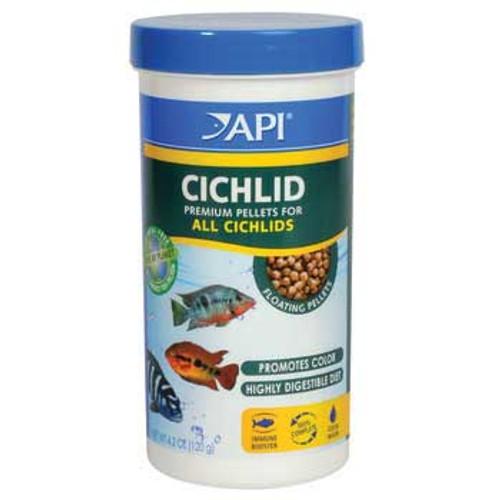 Aquarium Pharmaceuticals Api Cichlid Medium Pellet 4.2 Oz