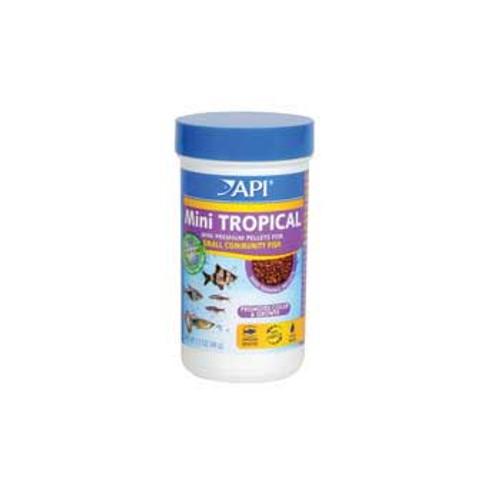 Aquarium Pharmaceuticals Api Tropical Mini Pellet 1.7 Oz