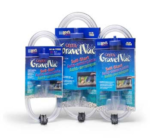 Lee's Gravel Vacuum Cleaner Self-start Small W/nozzle 9in