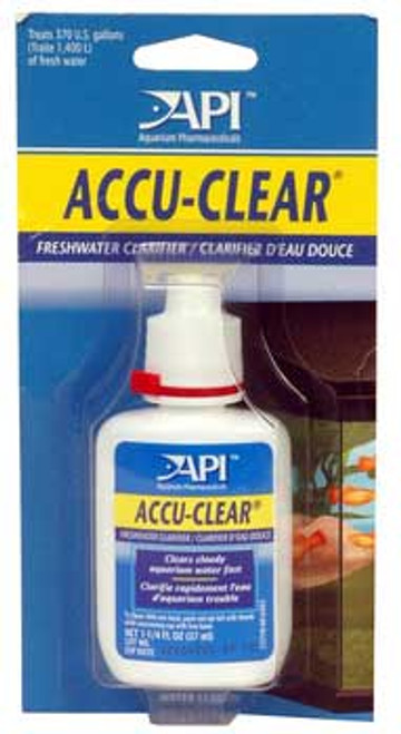 Aquarium Pharmaceuticals Accu-clear 1.25 Oz. (12 Pc.)