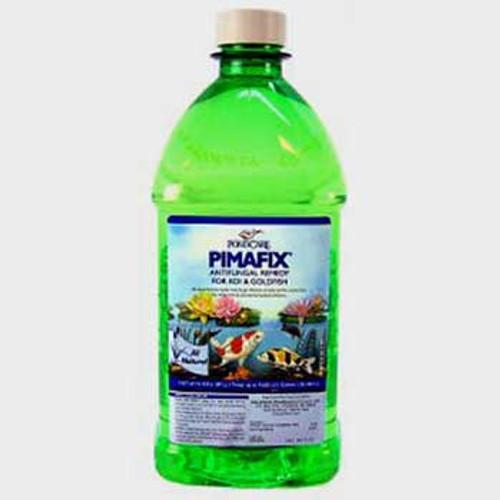 Aquarium Pharmaceuticals Pondcare Pimafix Liquid Remedy 64 Oz.