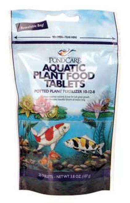 Aquarium Pharmaceuticals Pondcare Plant Food Tabs 20 Tab