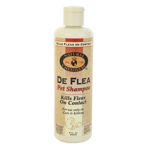 Natural Chemistry Deflea Shampoo Cat 8 Oz.
