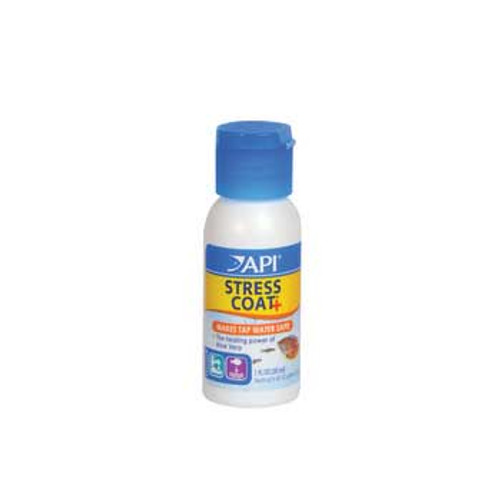 Aquarium Pharmaceuticals Api Stress Coat 1oz Bottle case of 12