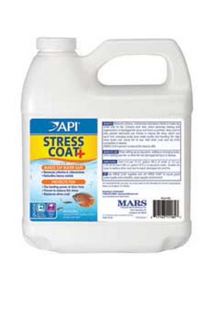 Aquarium Pharmaceuticals Stress Coat 64 Oz.