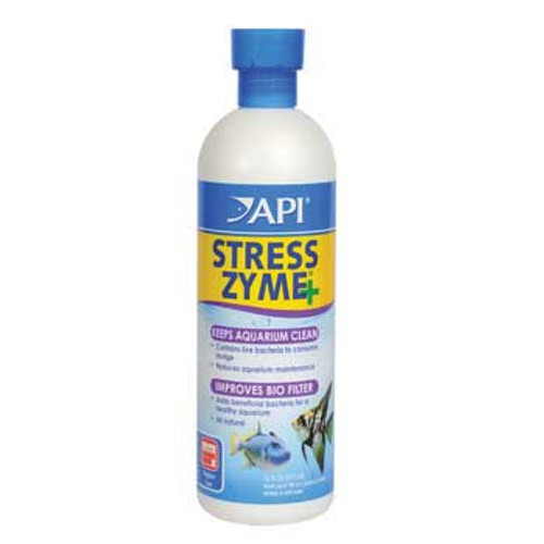Aquarium Pharmaceuticals Stress Zyme 16 Oz.
