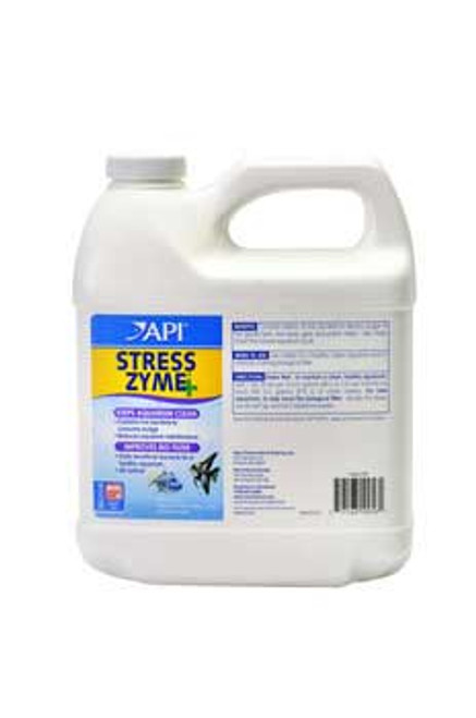 Aquarium Pharmaceuticals Stress Zyme 64 Oz.