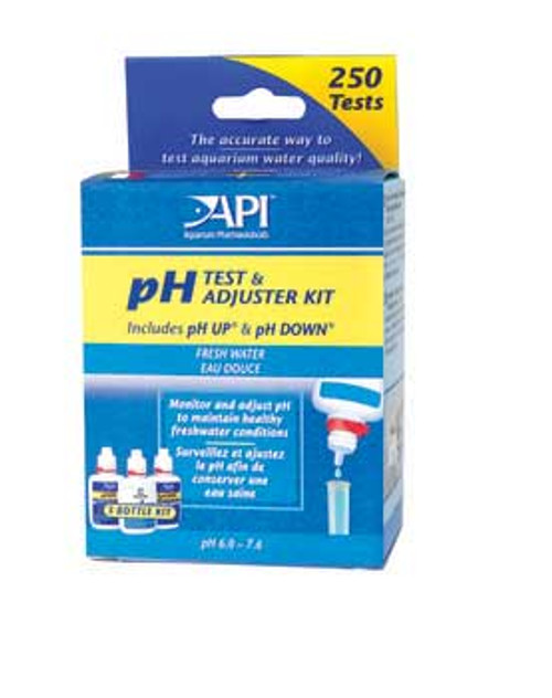 Aquarium Pharmaceuticals Freshwater Ph Deluxe Test Kit