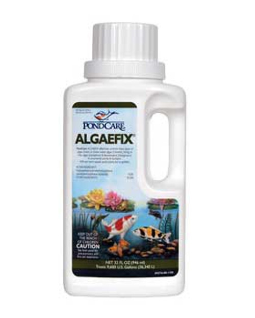 Aquarium Pharmaceuticals Pondcare Algae Fix 32 Oz.