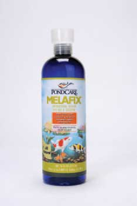 Aquarium Pharmaceuticals Pondcare Melafix Liquid Remedy 16 Oz.