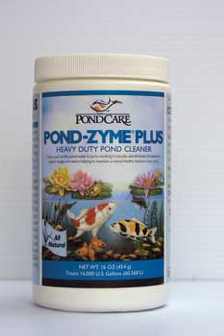 Aquarium Pharmaceuticals Pondcare Pond-zyme Cleaner 1 Lb. (jar)