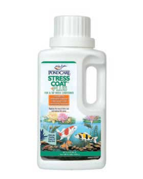 Aquarium Pharmaceuticals Pondcare Stress Coat 32 Oz.