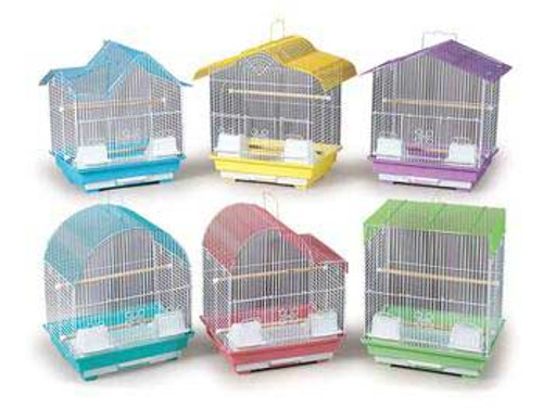 Prevue Pet Products Pre-packed Small Pastel Cages 14x11x16 6pc
