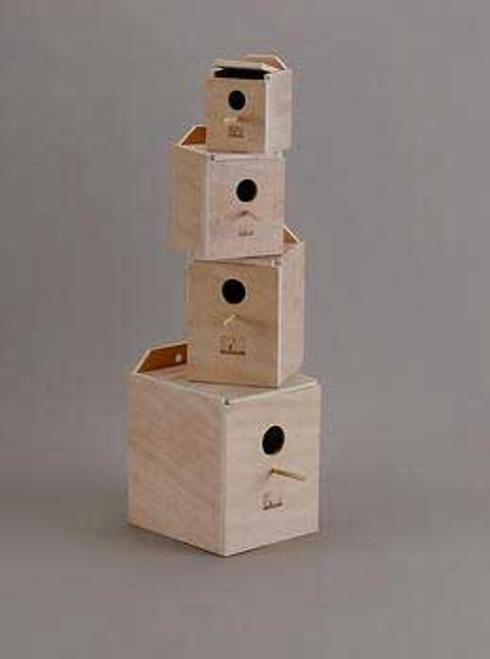 Prevue Pet Products Hardwood Inside Parakeet Nest Box Large
