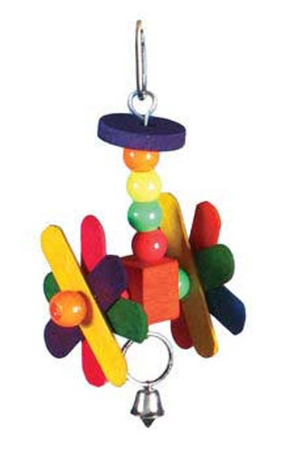 Prevue Pet Products Stick Staxs Helicopter Bird Toy