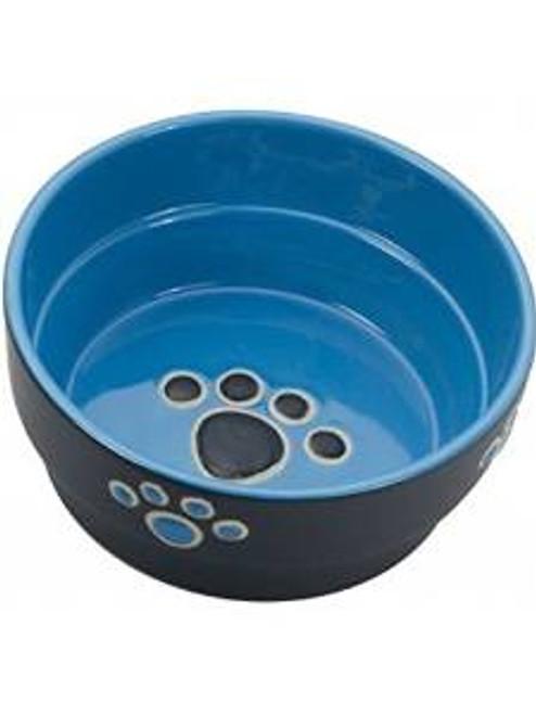 Spot Ethical Fresco Dish Dog Blue 5in