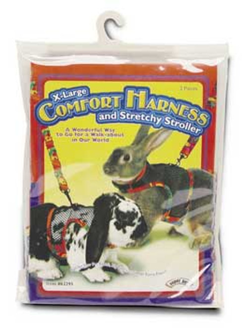 Super Pet Comfort Harness W/stretchy Stroller Extra-large
