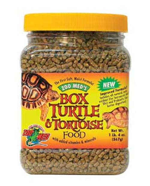 Zoo Med Box Turtle/tortoise Dry Food 28 Oz. (jar)