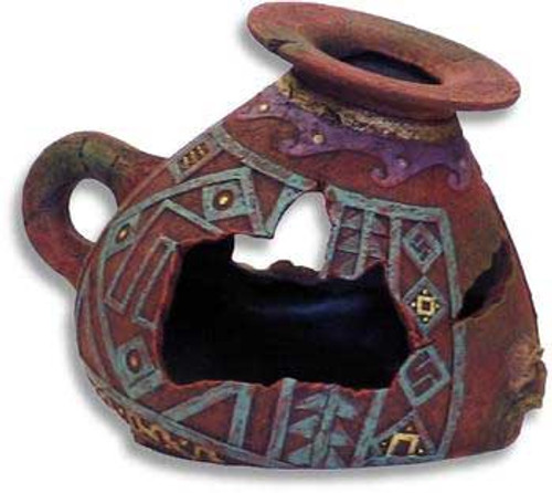 Blue Ribbon Exotic Environments Ancient Vases And Urns Incan 5.75x4.75x4.25in