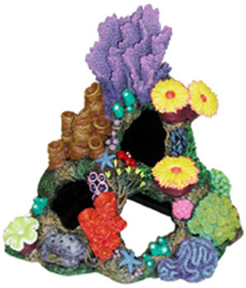 Blue Ribbon Exotic Environments Indonesian Reef Cavern 9x7x8in