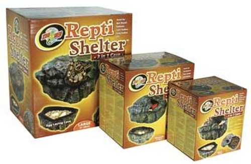 Zoo Med Repti-shelter 3 In 1 Cave Large