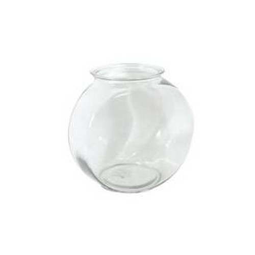 Anchor Hocking Classic Glass Drum Style Fish Bowl 2 Gal