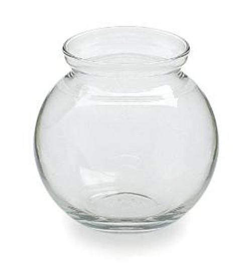Anchor Hocking Round Glass Ivy Ball Betta Bowl 4in