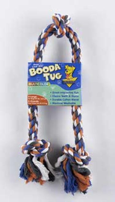 Aspen Pet Booda 3-knot Rope Tug Extra Large Multicolor