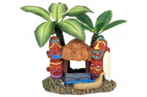 Blue Ribbon Exotic Environments Tahiti Village Palm Tree 5x3.5x4.25in