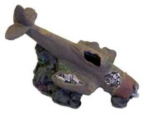 Blue Ribbon Exotic Environments Sunken Wwii Plane With And Cave
