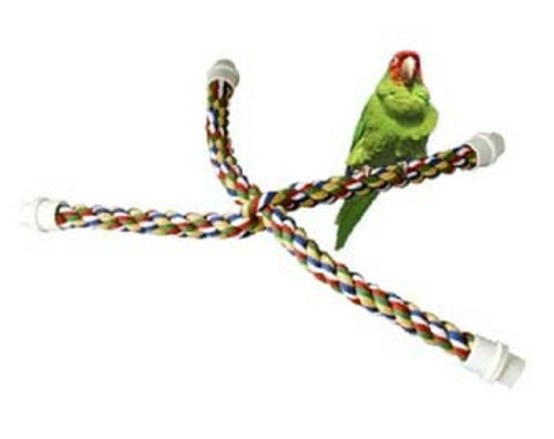 """Byrdy Comfy Cable Cross Perch Small 25"""""""