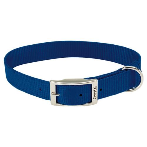 Coastal Single-ply Nylon Collar Blue 1x18in