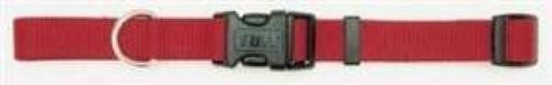 Coastal Adjustable Nylon Collar With Tuff Buckle Red 1x20in