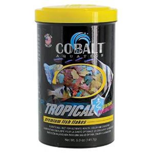 Cobalt Tropical Premium Fish Flake 5z
