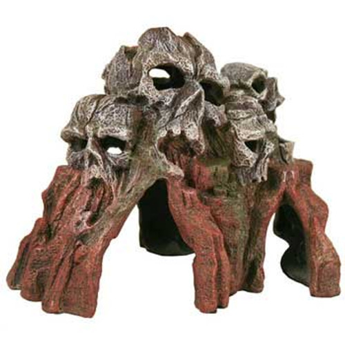 Blue Ribbon Exotic Environments Skull Mountain Brown 9x6x6in
