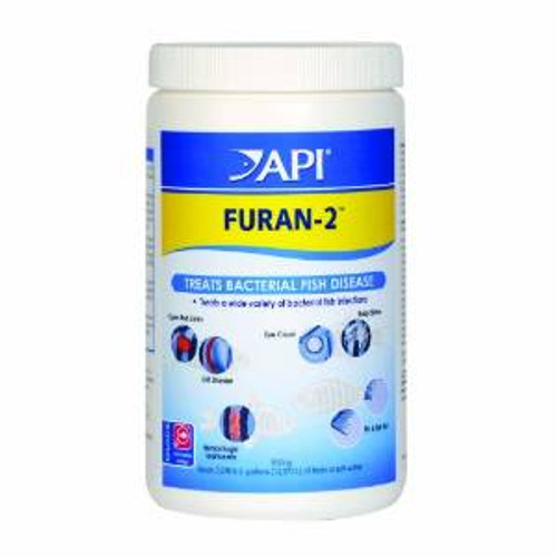 Aquarium Pharmaceuticals API Furan-2 Powder Bulk 850gm
