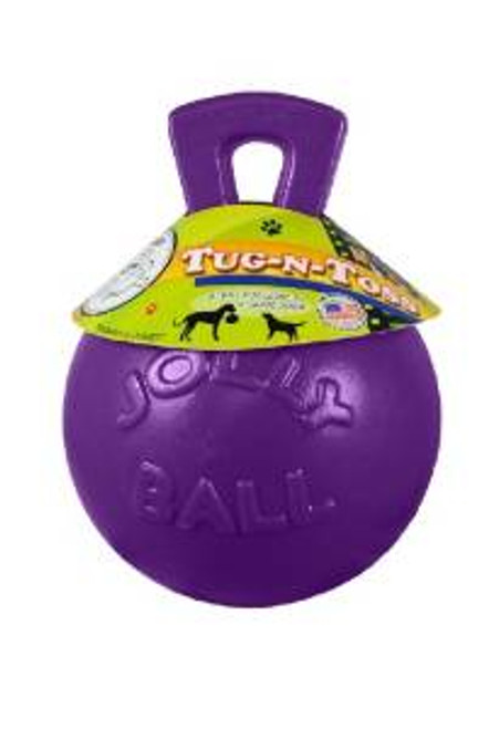 "Jolly Pets Tug-n-toss Purple 8"""