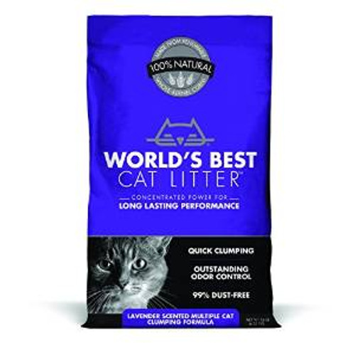 World's Best Scented Multiple Cat Clumping Formula 3/14 Lb.