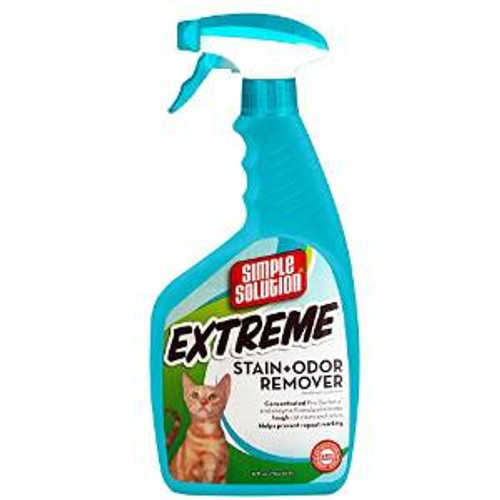 Bramton Simple Solution Cat Extreme Stain And Odor Remover 32oz