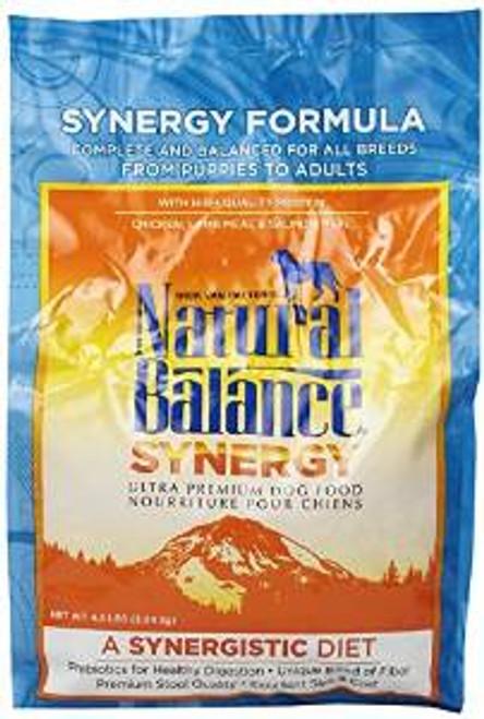 Natural Balance Synergy Ultra Dry Dog Food 4.5 Lb. (each)