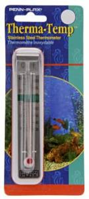 Penn-plax Thermometer Stainless Steel