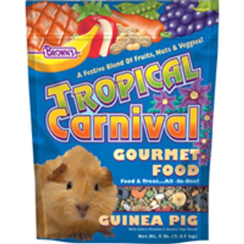 F.M. Brown's Brown S Tropical Carnival Guinea Pig Food (5-lb Ba-90597