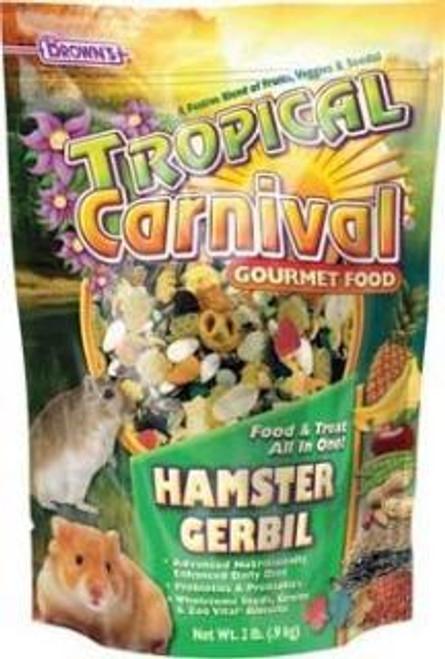 F.M. Brown's Brown S Tropical Carnival Hamster Food (2-lb Bag)-90594