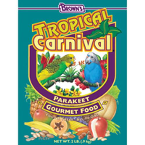 F.M. Brown's Brown S Tropical Carnival Parakeet Food (2-lb Bag)-90560