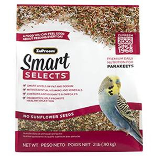 Zupreem Smart Selects - Parakeets 2#